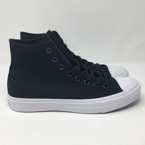 b5e985d59f6e Converse Chuck Taylor 2 Hi Black White 150143C